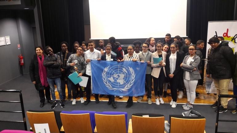 Toulouse : un délégué du Défenseur des droits a participé à une simulation de session de l'ONU organisée par l'association l'École des Droits de l'Homme