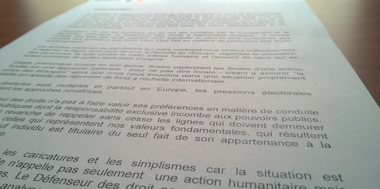 Rapport Calais